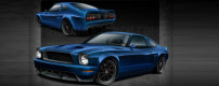 """Mustang Evolution"" – custom 1978 Mustang"
