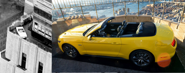 2015 Ford Mustang tops Empire State Building for its 50th Anniversary
