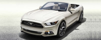 One-off 50 Year Limited Edition Mustang
