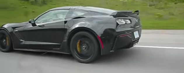 2015 Corvette Z06 Spotted with no camo