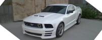 2006 Mustang GT. Nice 'n white.