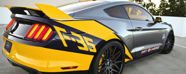 2015 Ford Mustang F-35 Lightning II revealed
