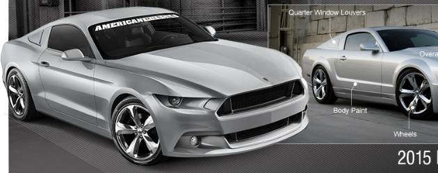 2015 Mustang Concepts by American Muscle