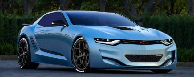2016 Chevrolet Camaro Concept. Best so far.