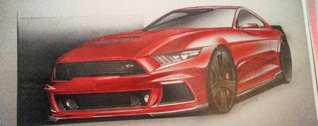 2015 Roush Performance Mustang under development