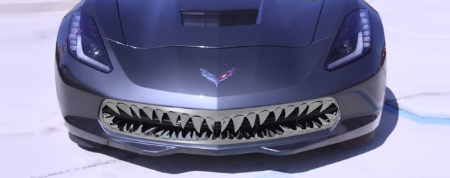 Jaws grille for your 2014 C7 Corvette