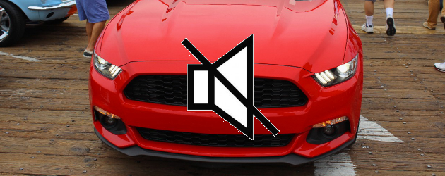 2015 Mustang EcoBoost uses speakers for engine noise