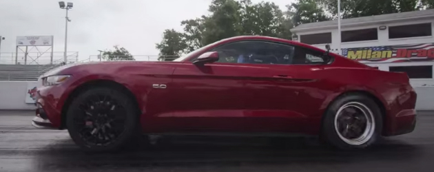 Ford did official 2015 Mustang drag times