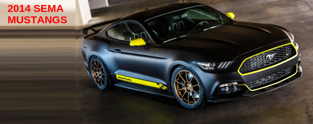 5 exclusive Mustangs from SEMA
