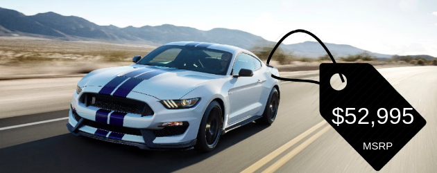 2015 Shelby GT350 Price leaked