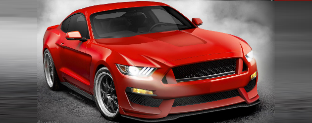 2016 SVT Mustang GT350 rendered
