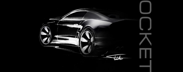 GAS Rocket – new muscle car by H. Fisker