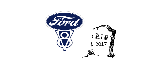 Rumors: Ford is to kill V8 after 2017