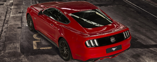 0.5 million Europeans configured 2015 Mustang