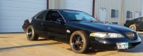 1998 Lincoln Mark VIII twin turbo by Black Mamba Speed