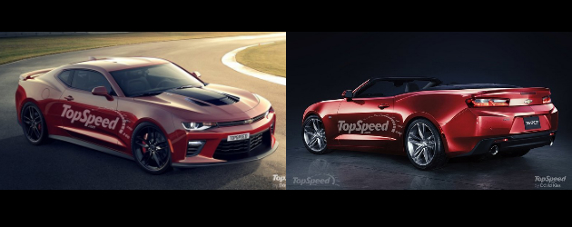 Rendered: 2016 Camaro ZL1 and Convertible
