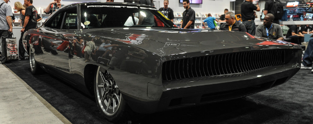 Sliced – custom 1968 Charger by the Roadster Shop