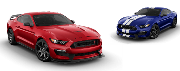 Prices of 2016 Ford Mustang Shelby GT350 and GT350R