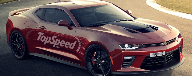 2018 Camaro ZL1 rendered