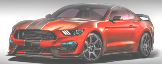 2017 Shelby Gt350 Red