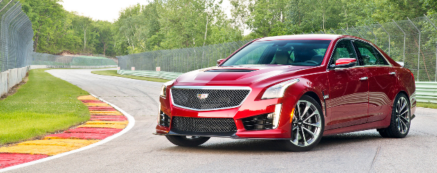 2016 Cadillac CTS-V Sedan comes even more powerful
