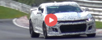 2017 Camaro ZL1 spied at the Nürburgring