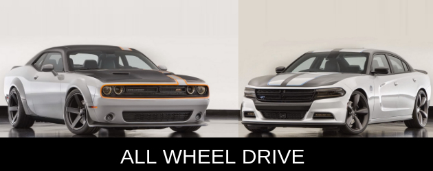 All wheel drive Challenger and Charger by MOPAR themselves