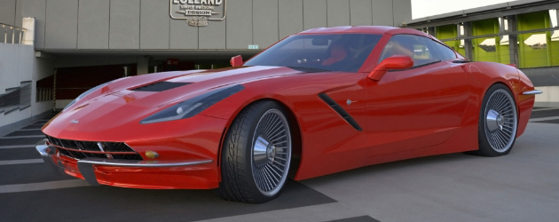 Zolland Design Corvette Stingray mashup