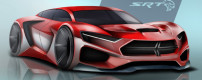 Students draw 2025 SRT Hellcat Concepts