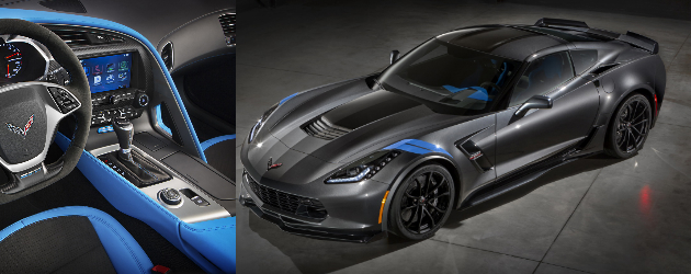 Chevy unveiled 2017 C7 Corvette Grand Sport
