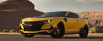 2016 Bumble Bee Camaro. Official photo