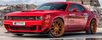 This wide-body Challenger Hellcat packs 900 horses