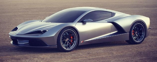 A Mid-engine Corvette vision – the Aria Concept